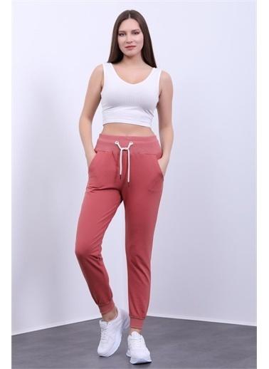 Rodi Jeans Kadın Geniş Ribana Bel Paça Alt Eşofman DS21YB098001 Renkli